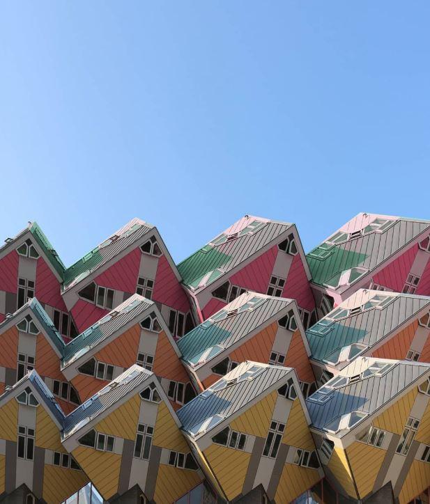 خانههایی عجیب در هلند +عکس