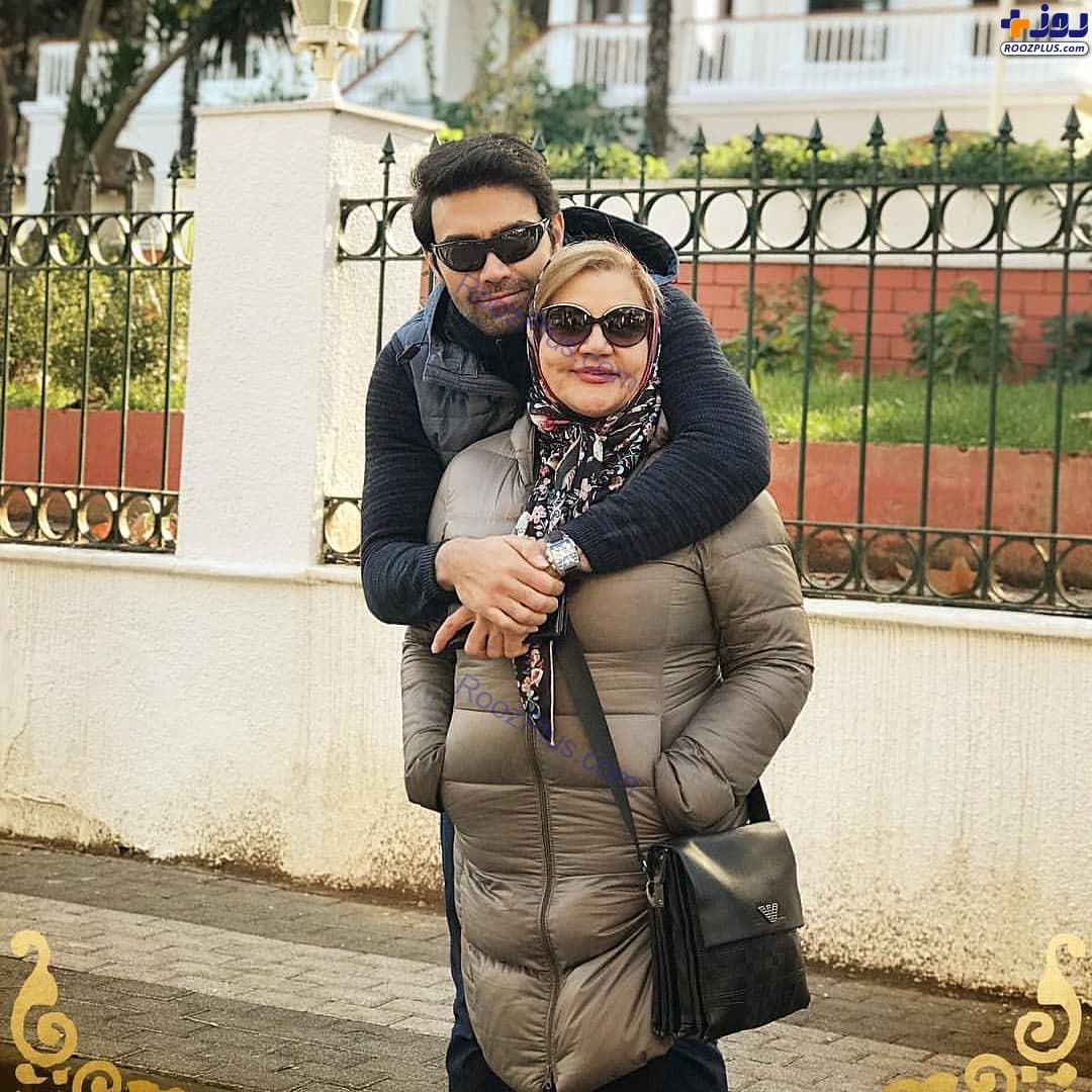 جوان ناکام سریال «بوی باران» در کنار مادرش +عکس