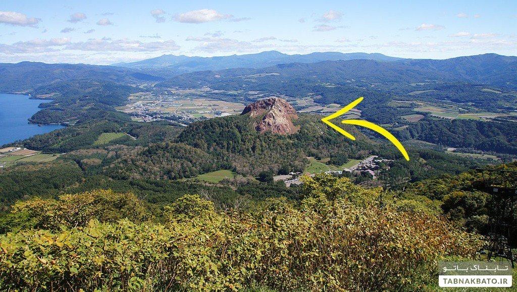 کوهی که ژاپن از دنیا پنهان کرد