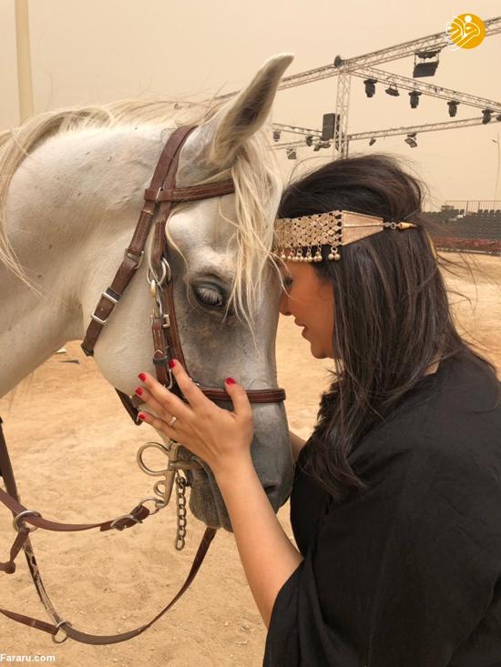زنان عربستانی برای نخستین بار اسبسواری کردند+عکس