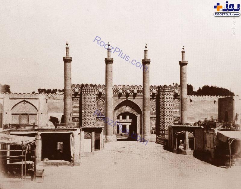 دروازه ارگ سلطنتی تهران+عکس