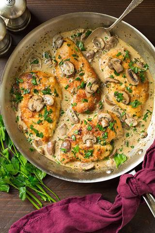 8 غذای جدید و خوشمزه با مرغ (1)