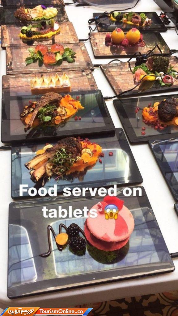 روش های نامتعارف سرو غذا در رستوران های مختلف + عکس