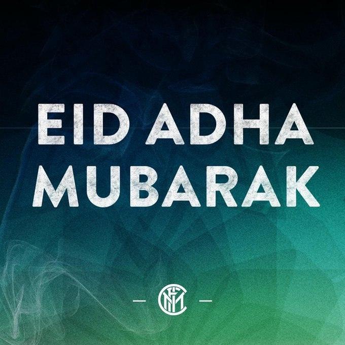 باشگاه اینتر ایتالیا عید قربان را تبریک گفت + عکس