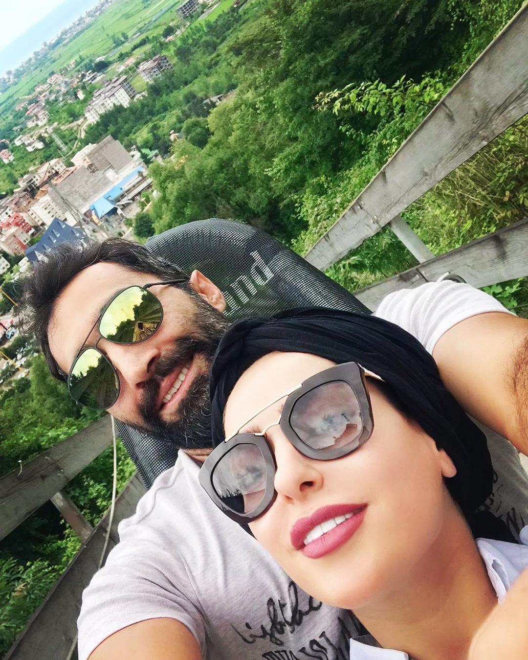 تفریح و شادی سمانه پاکدل و هادی کاظمی+عکس