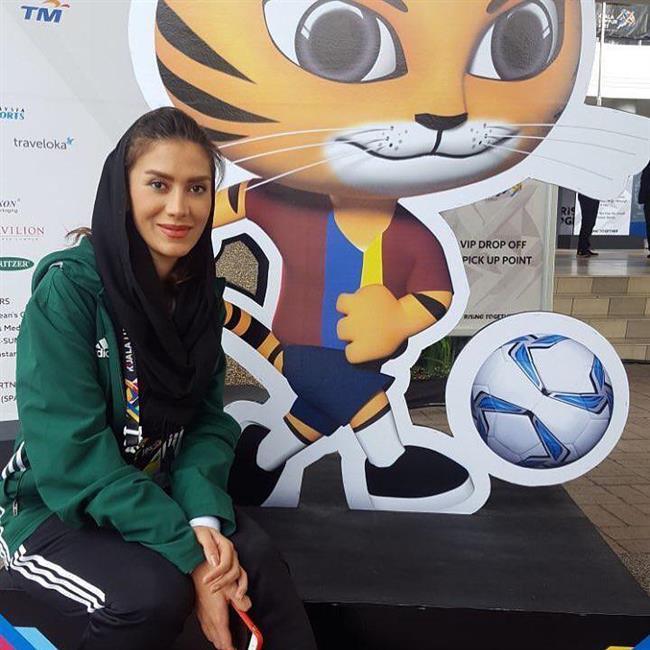 مشهورترین داور زن ایرانی +عکس