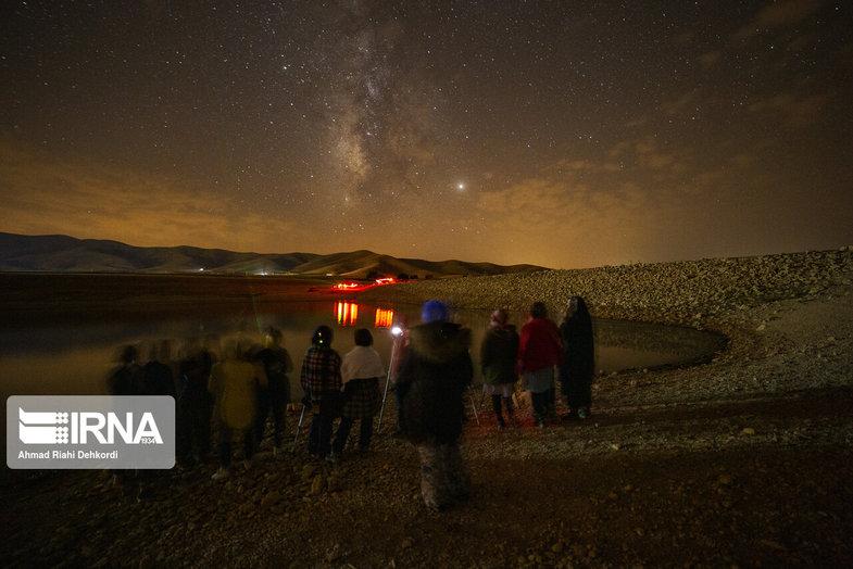 بارش شهاب در آسمان چهارمحال و بختیاری +عکس