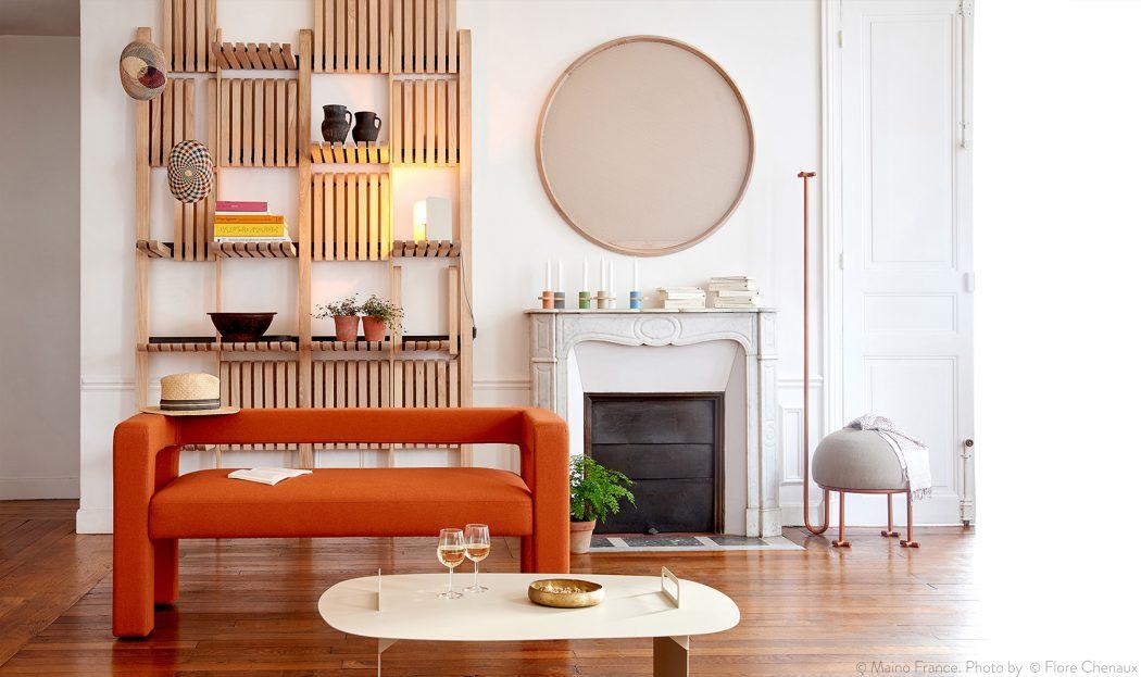 ایده طراحی قفسه های دیواری، چوبی و مدرن