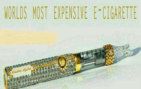 چوب سیگاری عجیب با قیمت دومیلیارد و چهارصد میلیون تومان+عکس