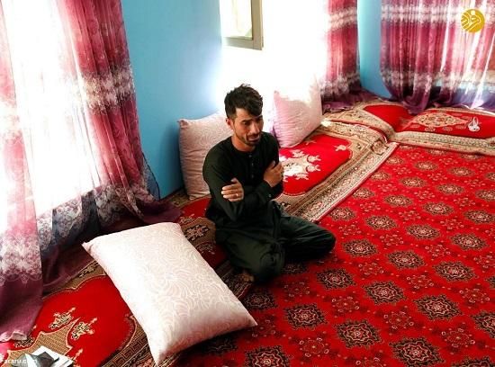 داماد در شوک انفجار مرگبار در مراسم عروسیاش+عکس