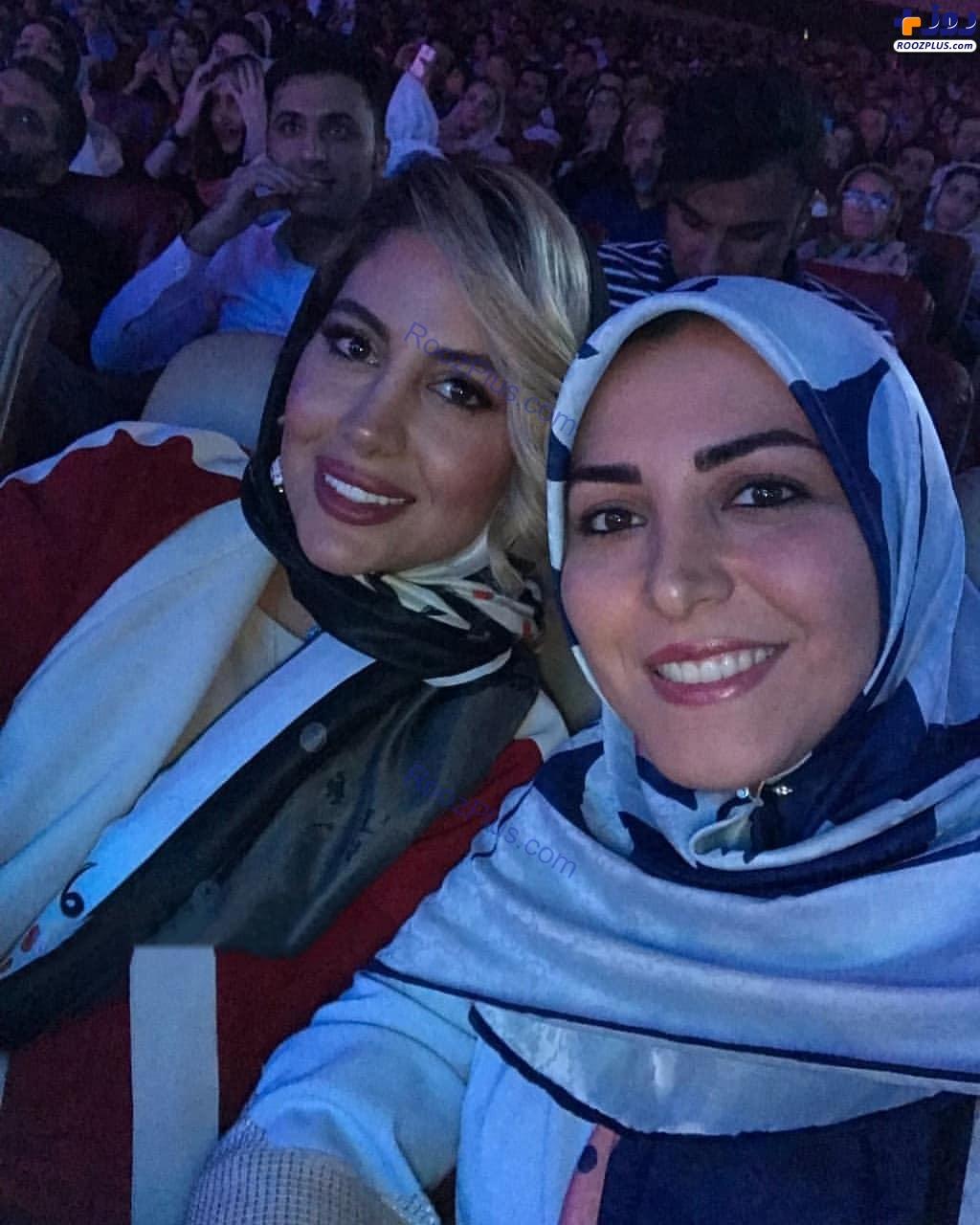 همسر بابک جهانبخش و المیرا شریفی مقدم +عکس