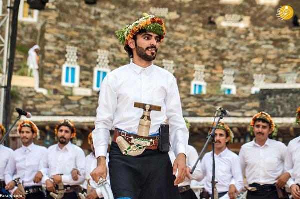 منطقه عجیب و یک جشنواره متفاوت در عربستان +عکس
