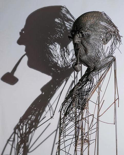 هنرمند ایتالیایی همه را انگشت به دهان کرد +عکس