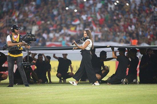 افتتاحیه مسابقات غرب آسیا در کربلا با حضور زنان +عکس