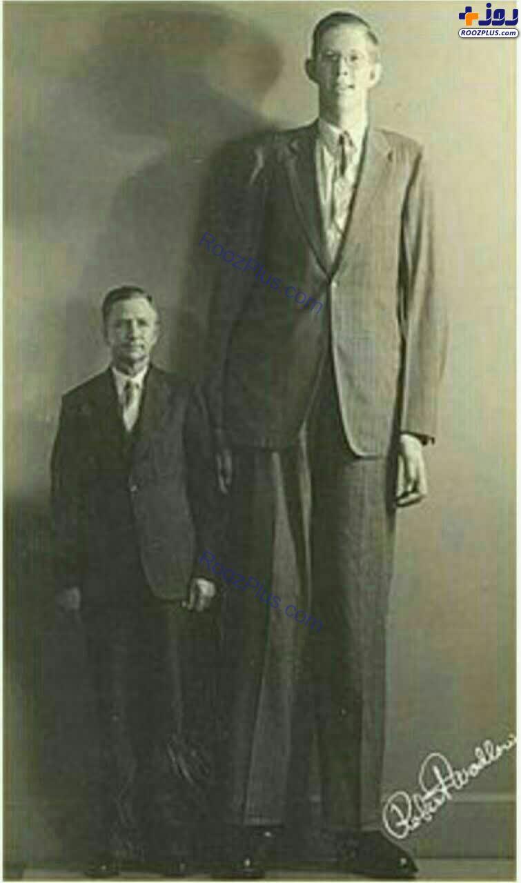 بلندقدترین مرد دنیا با قد 2.72 +عکس