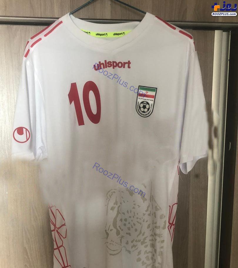 رونمایی از پیراهن جدید تیم ملی فوتبال ایران+عکس