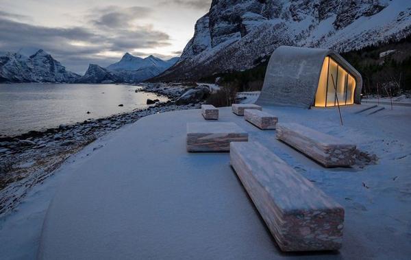 زیباترین توالت عمومی جهان در نروژ +عکس