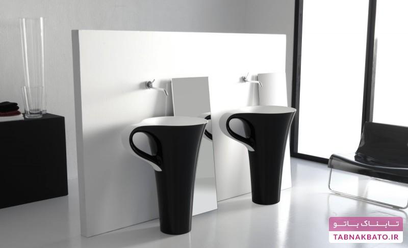 مدل فنجانی، ایدهای خلاقانه در طراحی روشویی