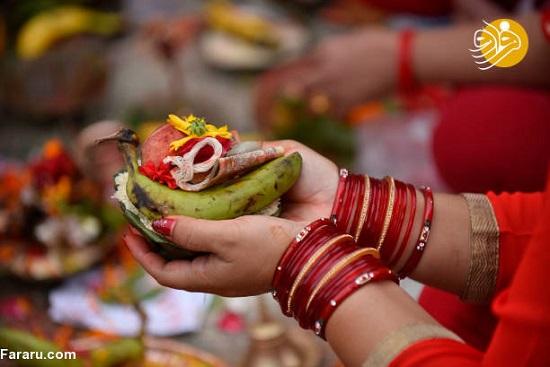مراسم ویژه دختران مجرد برای پیدا کردن همسر