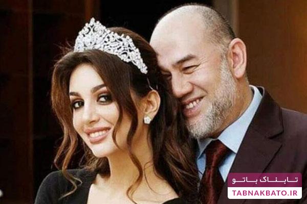 تهدید به افشاگری همسر سابق پادشاه مالزی با انتشار یک عکس