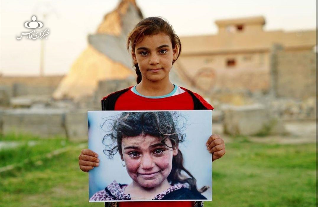«مونالیزای موصل» ۲ سال پس از آزادی +عکس
