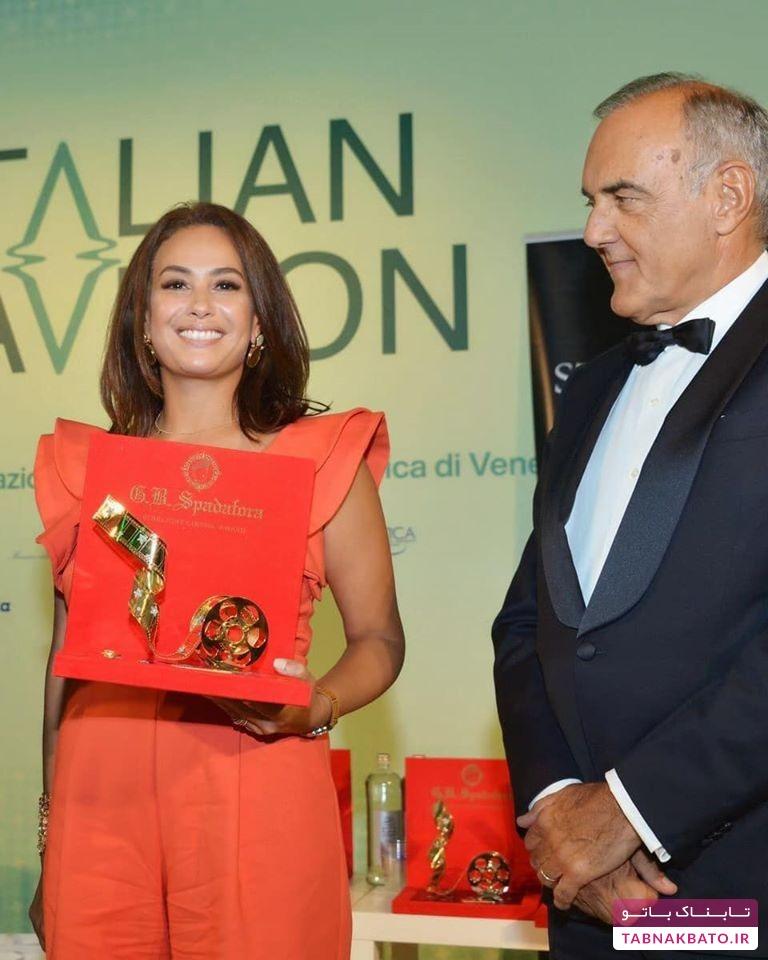جایزه معروف به بازیگر زن عرب برای نخستین بار در جشنواره ونیز