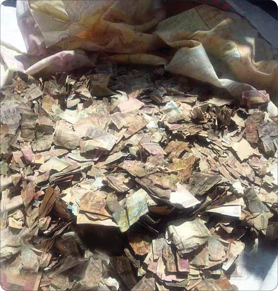 زوایایی پنهان از ماجرای کیسه پولهای پوسیده پیرزن اردبیلی + عکس