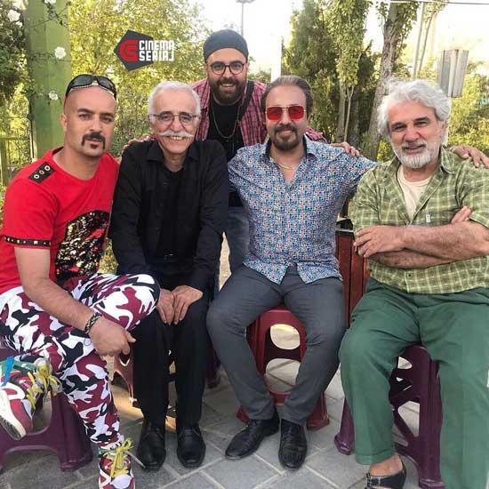 عطاران، مهرانفر و مهدی هاشمی در «انفرادی»+عکس