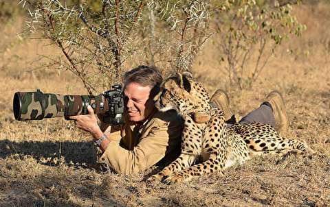 شکار لحظه ای ناب در حیات وحش
