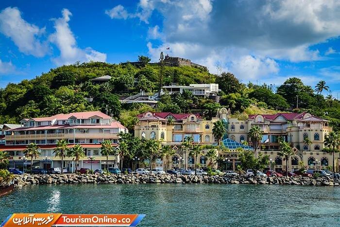 مقصد دیدنی توریستها در کارائیب + عکس