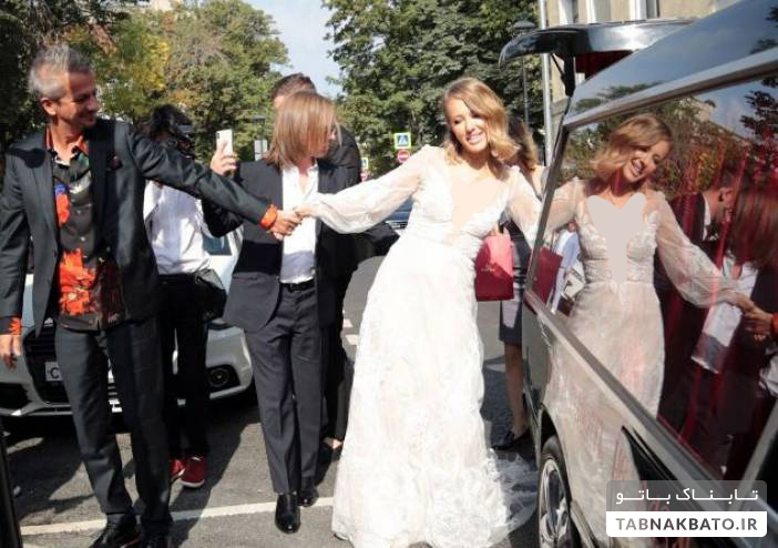 مراسم عجیب ازدواج نامزد سابق انتخابات ریاست جمهوری روسیه