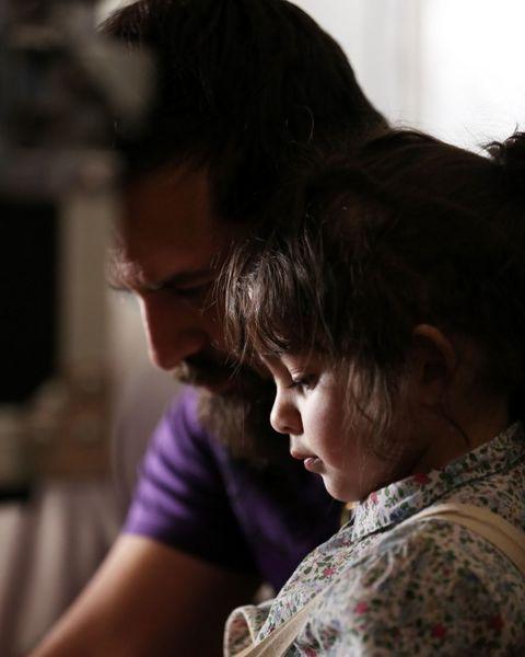 هومن سیدی به همراه دخترش +عکس