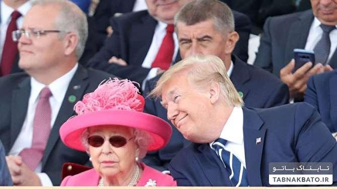 ناراحتی ملکه انگلیس از ترامپ به این دلیل