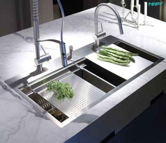 سینک های نظام مند برای دکوراسیون آشپزخانه