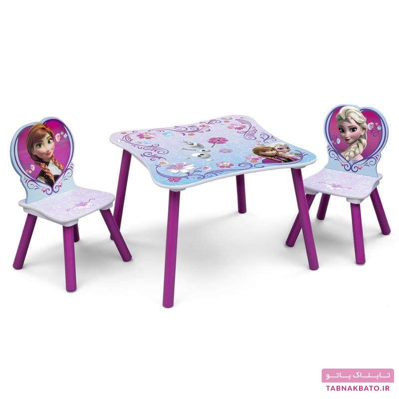 میزهای کوچک، زینتبخش اتاق کودک