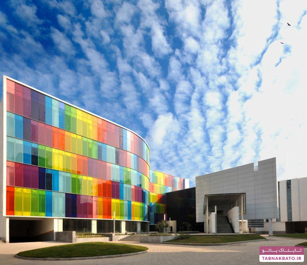 ساختمانهای زیبا با نمای چشمنواز