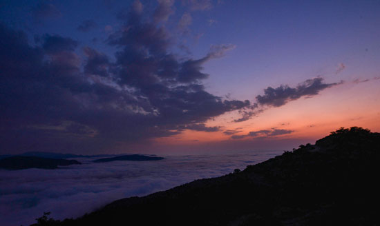 درازنو؛ طبیعت بکر گلستان در میان ابرها