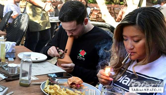 افتتاح رستوران ماریجوانا در هالیوود