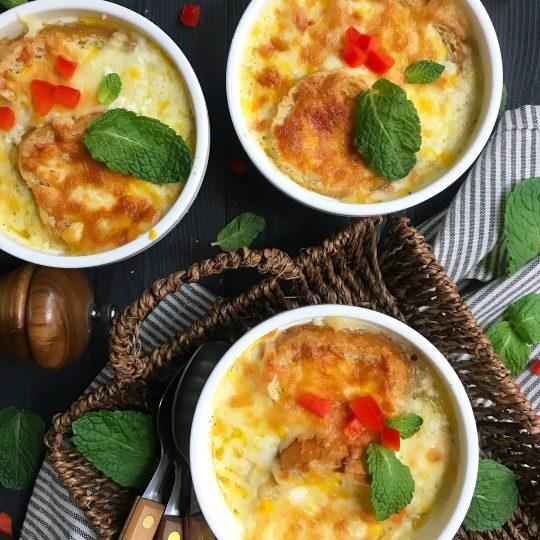 سوپ پیاز فرانسوی، خوشمزه و آسان