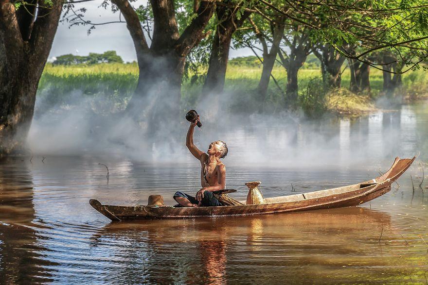 عکسهای بینظیر از گوشه و کنار جهان که همه موضوع مشترک دارند: آب