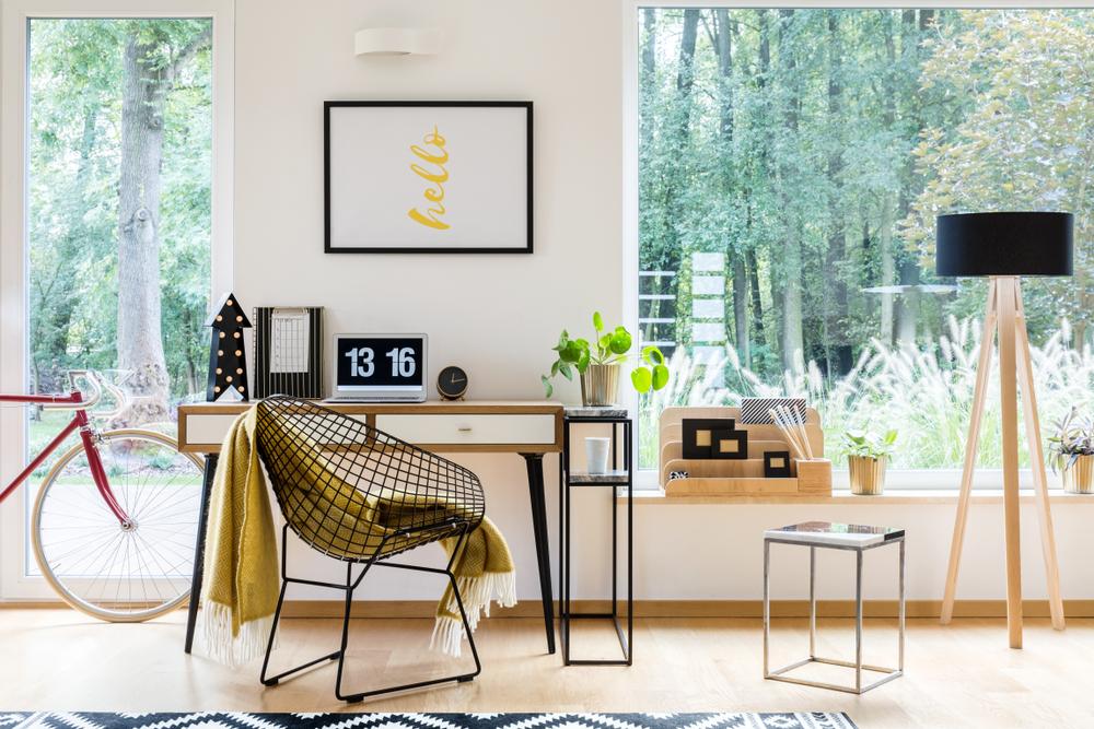 نکاتی کاربردی برای طراحی یک اتاق کار خانگی بی نقص