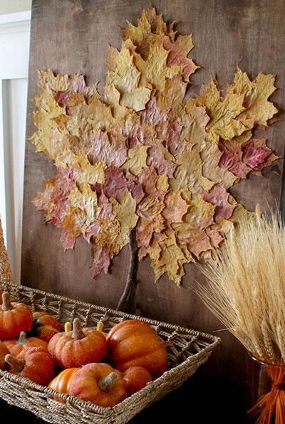 دکوراسیون پاییزی منزل با ۱۵ ایدهی دیدنی