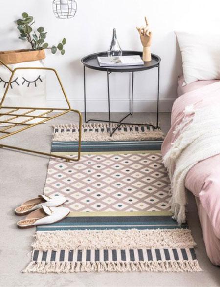 چگونگی پهنکردن فرش؛ از قواعدش خبر داری؟