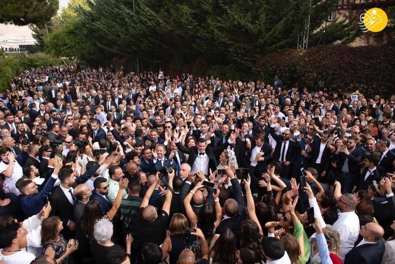 جشن عروسی پسر سیاستمدار معروف +عکس