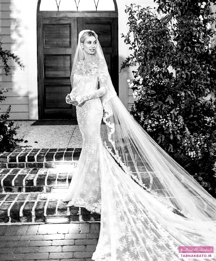 عکسهای رسمی ازدواج جاستین بیبر و هیلی بالدوین