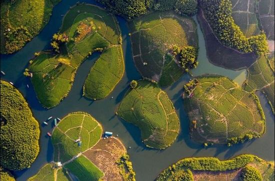 زیباییهای ویتنام را از بالا ببینید