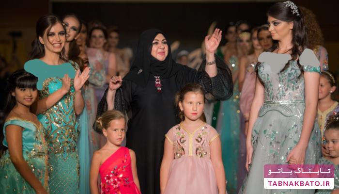 کودکان مدل در جشنواره مد دبی
