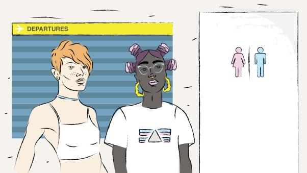 تو زن هستی یا مرد؟ پیچیدگیهای سفر به عنوان یک فرد ترنس