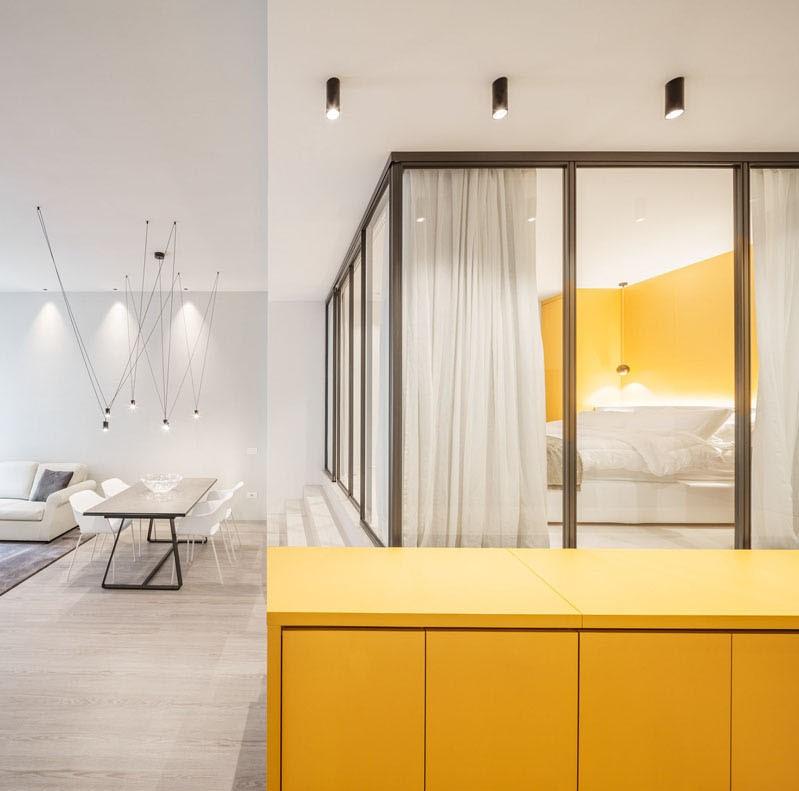 ایده هایی بزرگ برای طراحی داخلی آپارتمانی کوچک