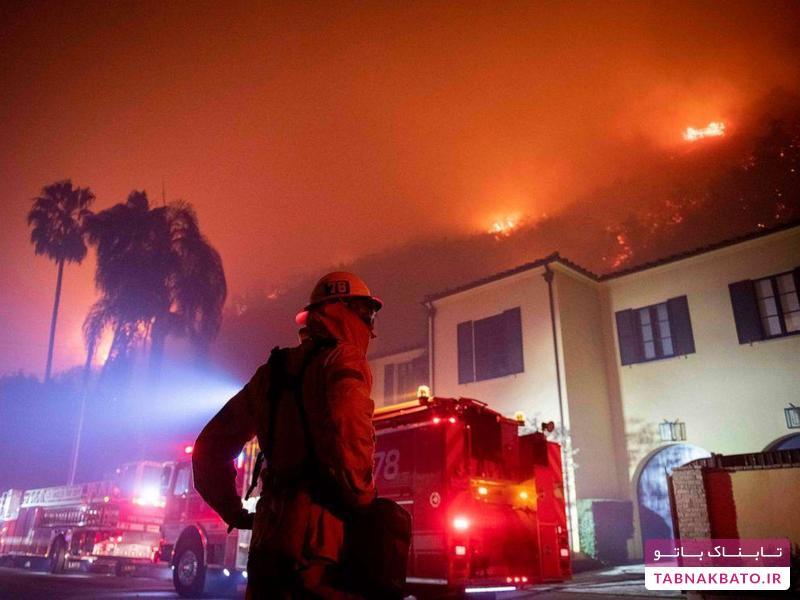 فرار آرنولد شوارتزنگر از خانه اش در کالیفرنیا